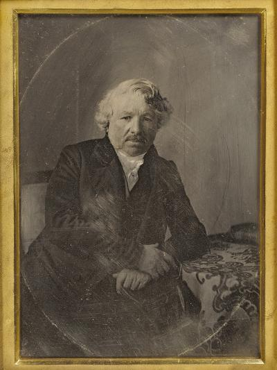 Portrait of Louis-Jacques-Mand? Daguerre by Charles Richard Meade--Photographic Print