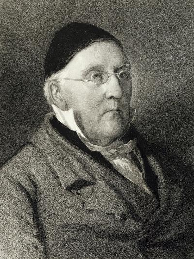 Portrait of Louis Ludwig Spohr--Giclee Print