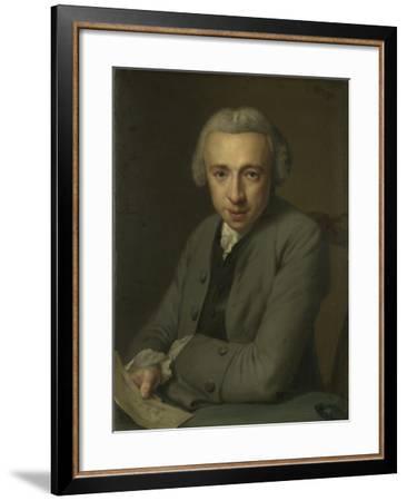 Portrait of Louis Metayer Phz., Goldsmith and Art Collector-George van der Mijn-Framed Art Print