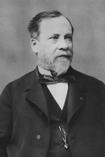 Portrait of Louis Pasteur-Pierre Petit-Photographic Print