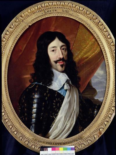 Portrait of Louis XIII (1601-43) after 1610-Philippe De Champaigne-Giclee Print