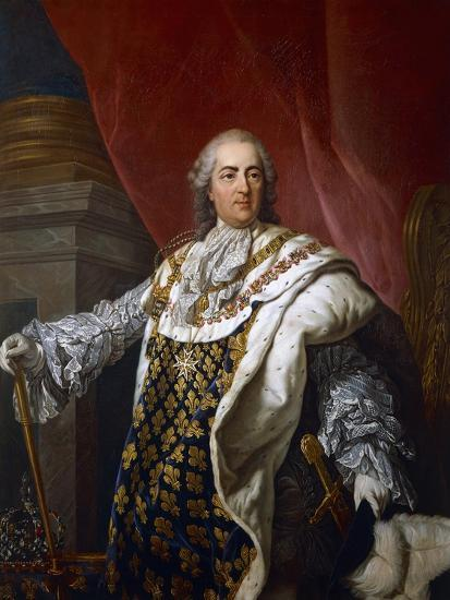 Portrait of Louis XVI of France--Giclee Print