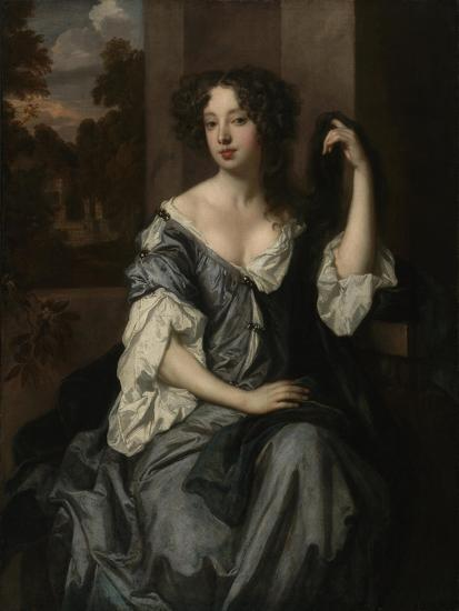 Portrait of Louise de Keroualle, Duchess of Portsmouth, c.1671-4-Peter Lely-Giclee Print
