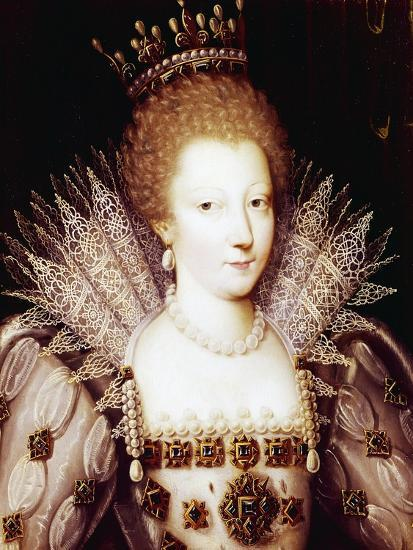 Portrait of Louise Marguerite of Lorraine--Giclee Print