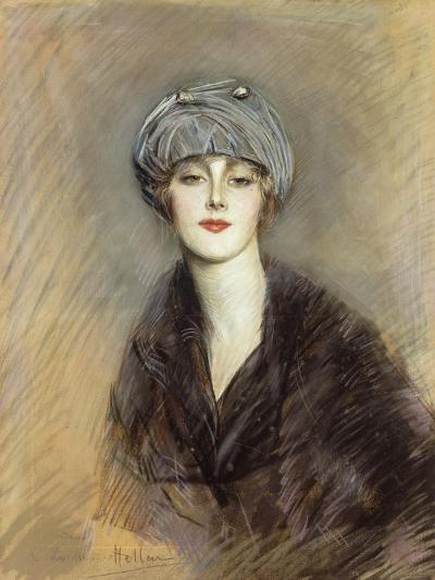 Portrait of Lucette, c.1913-Paul Cesar Helleu-Giclee Print