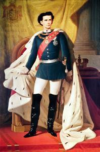 Portrait of Ludwig II