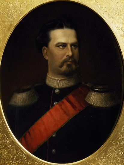 Portrait of Ludwig II--Giclee Print