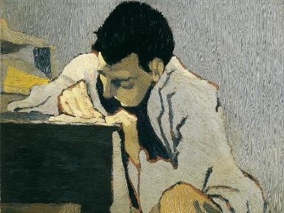 Portrait of Lugn?-Po?-Edouard Vuillard-Art Print