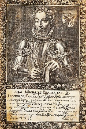Portrait of Luis Vaz De Camoes--Giclee Print
