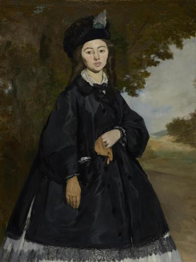 Portrait of Madame Brunet, c.1861-3-Edouard Manet-Giclee Print
