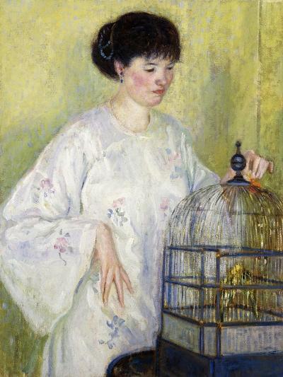 Portrait of Madame Frieseke, C.1912-1913-Frederick Carl Frieseke-Giclee Print