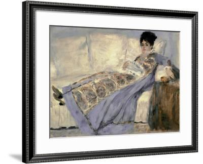 Portrait of Madame Monet by Pierre-Auguste Renoir--Framed Giclee Print