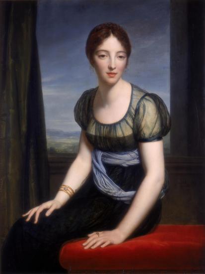 Portrait of Madame Regnault De Saint-Jean D'Angely, 1798-Francois Pascal Simon Gerard-Giclee Print