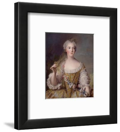 Portrait of Madame Sophie de France, 1748-Jean-Marc Nattier-Framed Premium Giclee Print