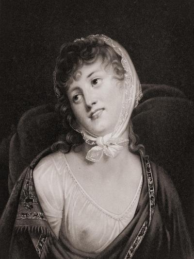 Portrait of Madame Walewska--Giclee Print