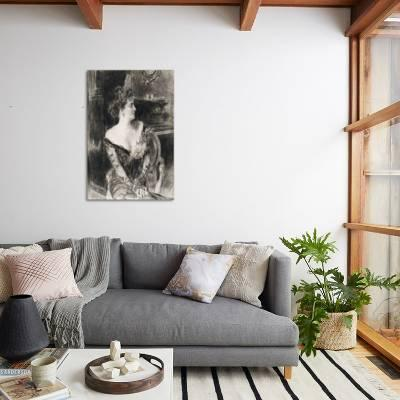 Awe Inspiring Portrait Of Madame X C 1901 1902 Giclee Print By Giovanni Boldini Art Com Spiritservingveterans Wood Chair Design Ideas Spiritservingveteransorg