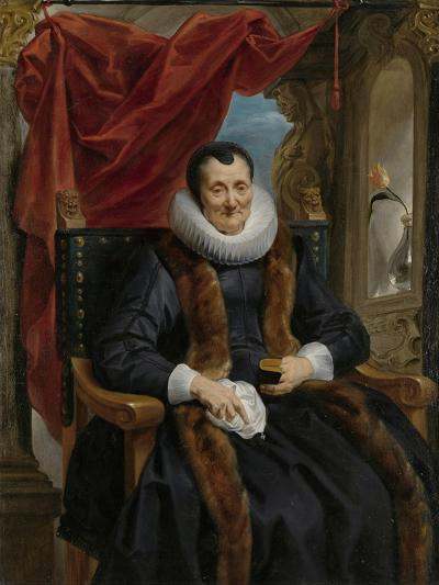 Portrait of Magdalena de Cuyper, c.1635-1636-Jacob Jordaens-Giclee Print