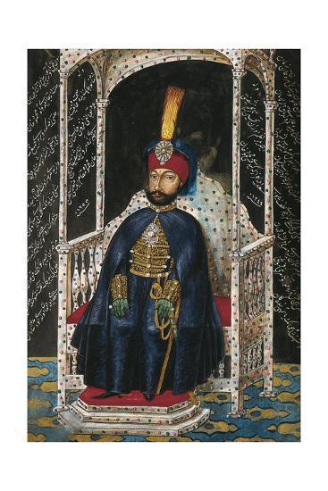 Portrait of Mahmud II--Giclee Print