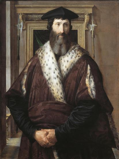 Portrait of Malatesta Baglioni--Giclee Print