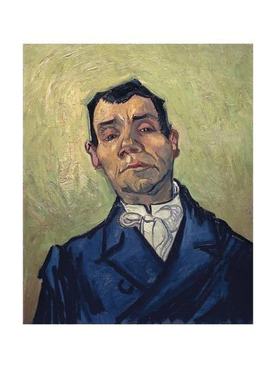 Portrait of Man-Vincent van Gogh-Giclee Print