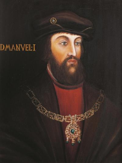 Portrait of Manuel I of Portugal, known as the Fortunato--Giclee Print