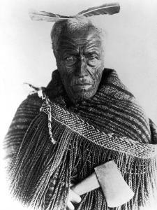 Portrait of Maori Chief