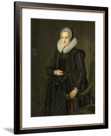 Portrait of Margarita Cassier--Framed Art Print