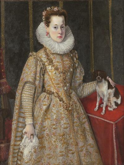 Portrait of Margherita of Savoy-Federico Zuccaro-Giclee Print