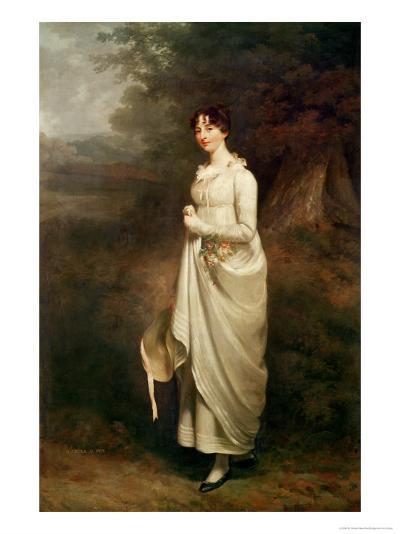Portrait of Maria. B. Fox-Sir William Beechey-Giclee Print