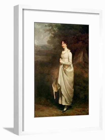 Portrait of Maria. B. Fox-Sir William Beechey-Framed Giclee Print