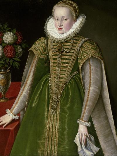 Portrait of Maria Christina of Austria, Princess of Transylvania--Photographic Print