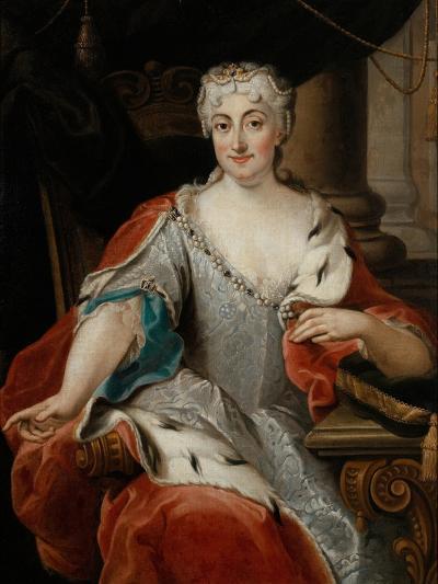 Portrait of Maria Clementina Sobieska (1702-173)-Pier Leone Ghezzi-Giclee Print