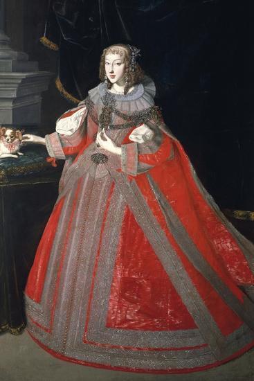 Portrait of Maria Leopoldine of Austria--Giclee Print