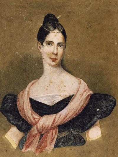 Portrait of Maria Malibran--Giclee Print