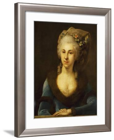 Portrait of Marianna Martines--Framed Giclee Print