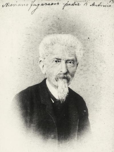 Portrait of Mariano Fogazzaro, Father of Italian Writer and Poet Fogazzaro--Giclee Print