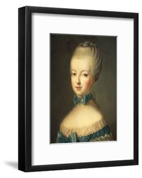 Portrait of Marie Antoinette-Jean-Baptiste Huet-Framed Giclee Print
