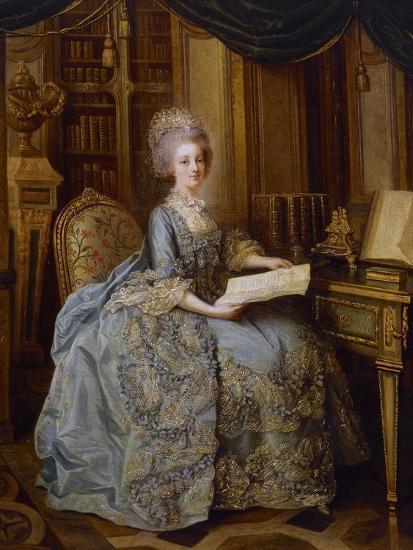 Portrait of Marie Antoinette--Giclee Print