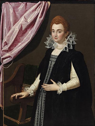 Portrait of Marie De Médici (1575-164)-Scipione Pulzone-Giclee Print
