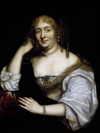 Portrait of Marie De Rabutin-Chantal, Marquise De Sevigne--Giclee Print