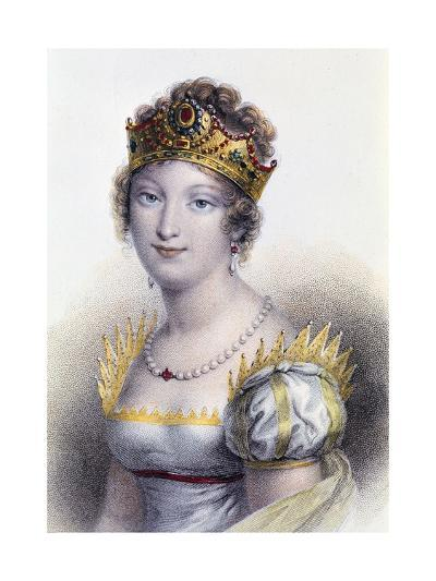 Portrait of Marie Louise, Duchess of Parma--Giclee Print
