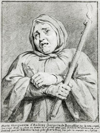 Portrait of Marie-Madeleine D'Aubray--Giclee Print
