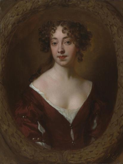 Portrait of Mary Farrington (Née Smith), C.1675-Sir Peter Lely-Giclee Print