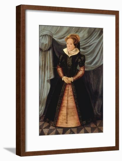 Portrait of Mary Tudor-Antonio More-Framed Giclee Print