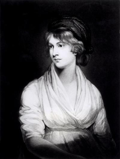 Portrait of Mary Wollstonecraft Godwin Author of a Vindication of the Rights of Woman-John Opie-Giclee Print
