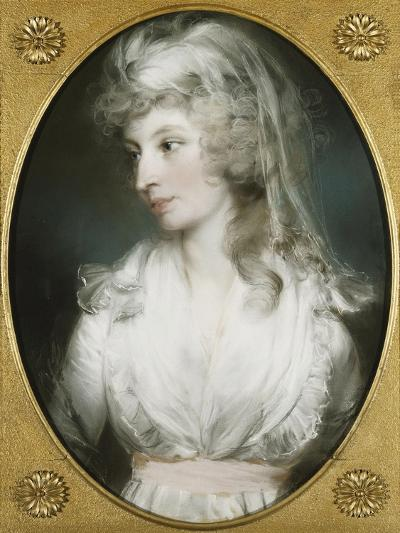 Portrait of Mary Wood-John Russell-Giclee Print