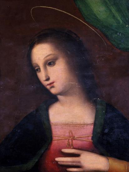 Portrait of Mary-A. Piccinelli-Giclee Print