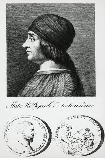 Portrait of Matteo Maria Boiardo--Giclee Print