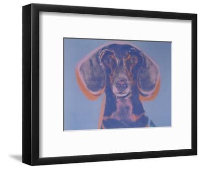 Portrait of Maurice, 1976-Andy Warhol-Framed Art Print