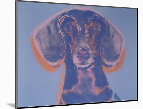 Portrait of Maurice, 1976-Andy Warhol-Mounted Art Print